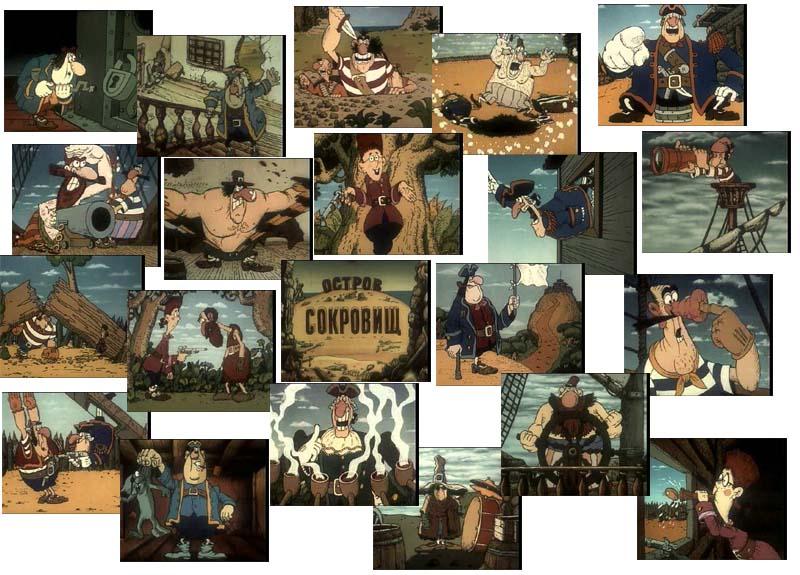 Советские фильмы и мультфильмы. MPEG4, DivX